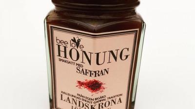 Smaksatt honung - Saffran