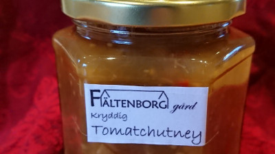 Kryddig tomatchutney