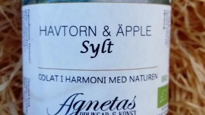 Havtorn & Äpple sylt 170 gr, ekologisk