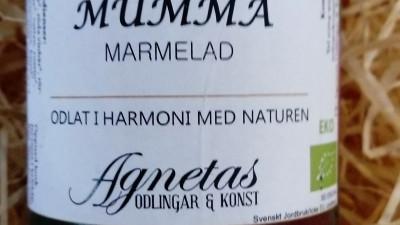 Mumma marmelad 180 gr ekologisk