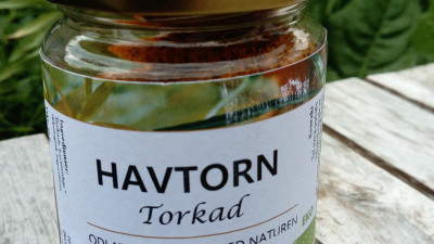 Havtorn, pulver 50 gram, ekologisk