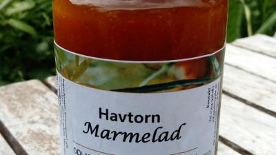 Havtornsmarmelad 250 gram, ekologisk