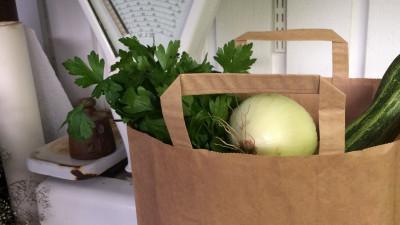 Grönsakskasse- liten